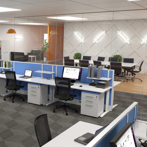 Office Furniture Setting